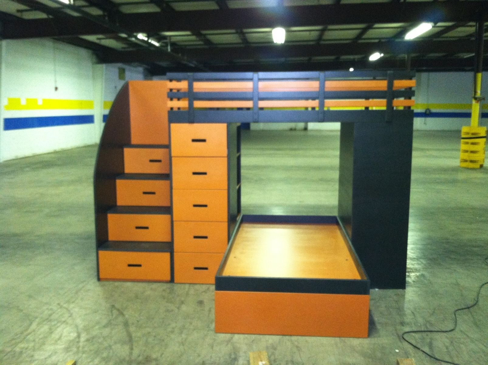 Handmade Valchromat Bunk Bed By Creative Insanity Designs