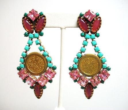 "Custom Made Roman Earrings ""Mimi''"