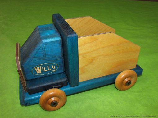 Custom Made Dismantled Wooden Truck