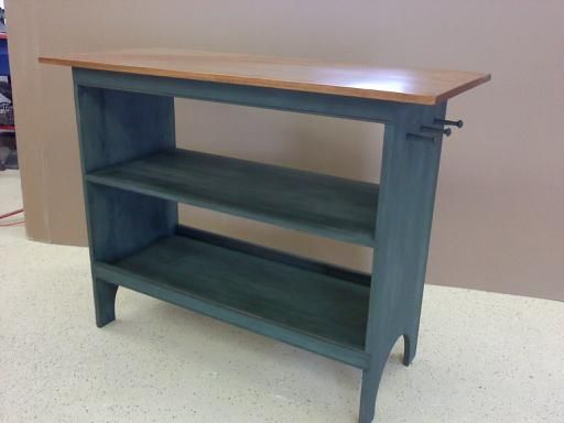 custom made shaker style kitchen islandwork table - Shaker Kitchen Table