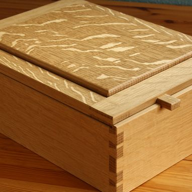 Custom Made Dovetailed Box For Sacred Things