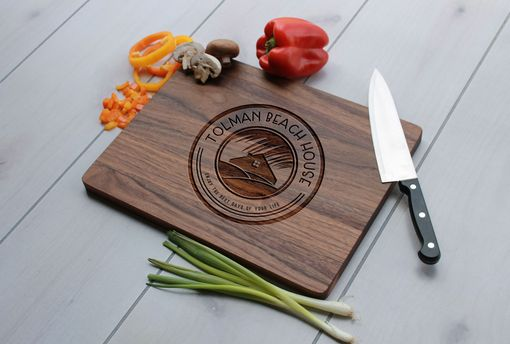 Custom Made Personalized Cutting Board, Engraved Cutting Board, Custom Wedding Gift – Cb-Wa- Tolman Beachhouse