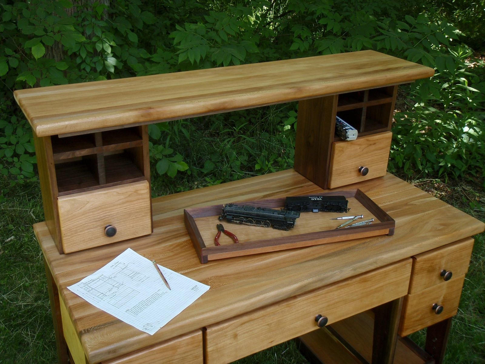Custom Made Hobby Work Bench Desk Table