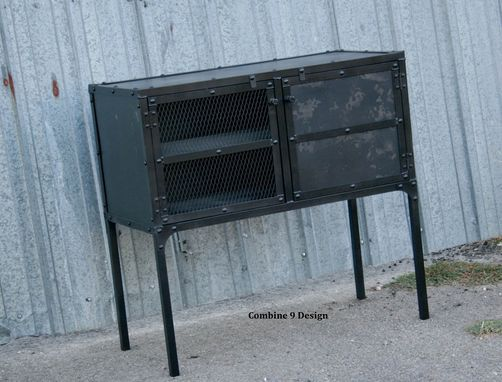 Custom Made Industrial Buffet, Hutch, Sideboard - Reclaimed Wood Avail. Tv Stand