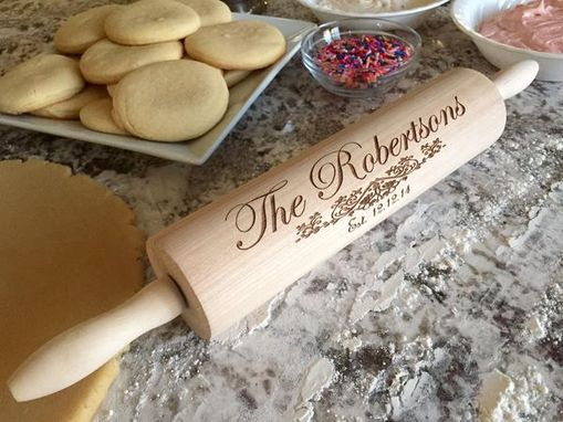 Custom Made Personalized Rolling Pins
