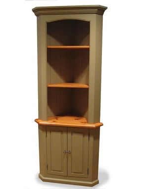Custom Made Dining Room Corner Hutch