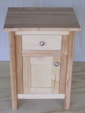Custom Made Bedside Cabinet