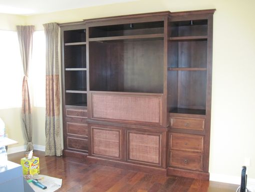 Custom Made Builtin Entertainment Center
