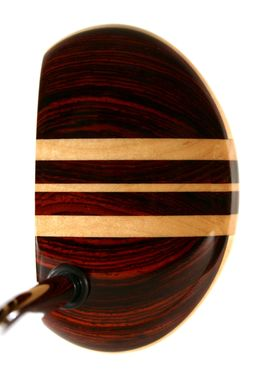 Custom Made Classic Mallet Cocobolo With Three Maple Aiming Lines