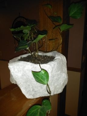 Custom Made Planter Pot Rock