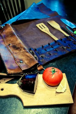 Custom Made Leather Chef Knife Rolls