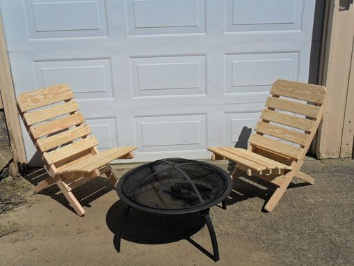 Custom Made Camp Fire Chair