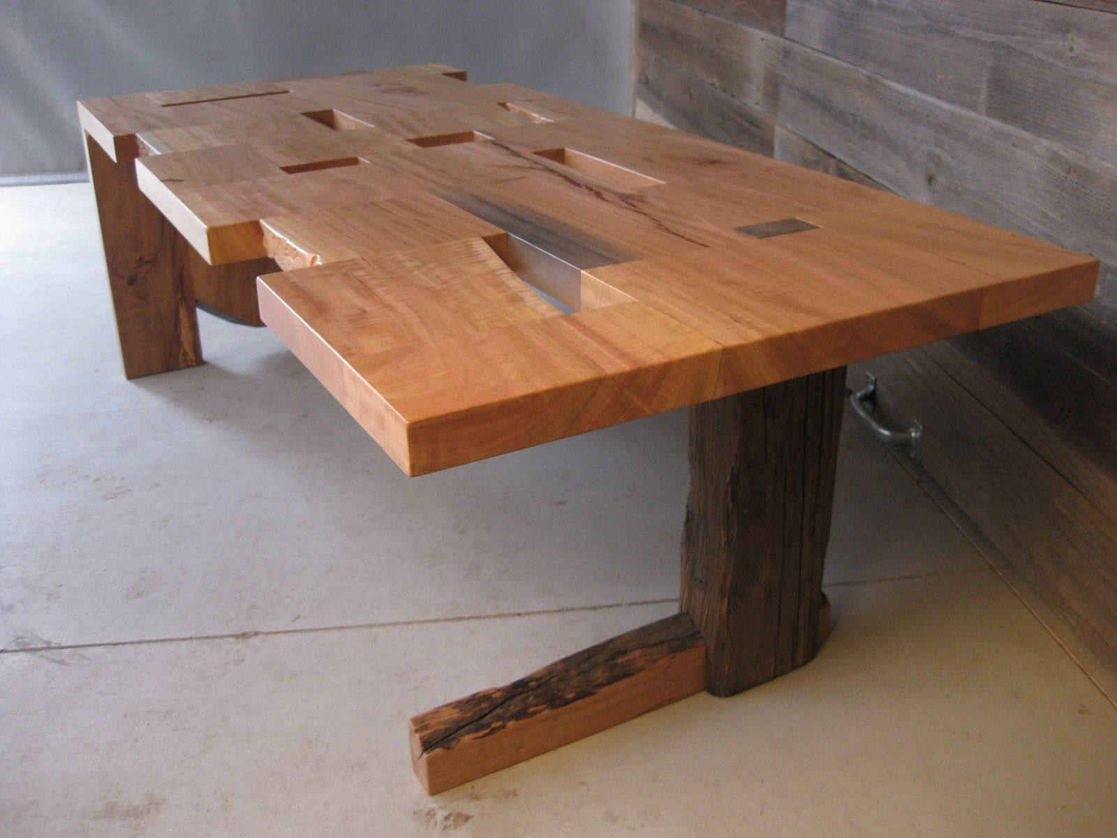 Handmade fcut Coffee Table by San Diego Urban Timber