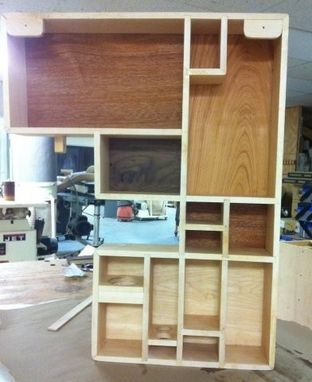 Custom Made Custom Bathroom Cabinet