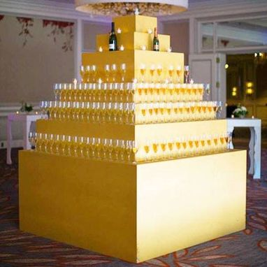 Custom Made Champagne Tower