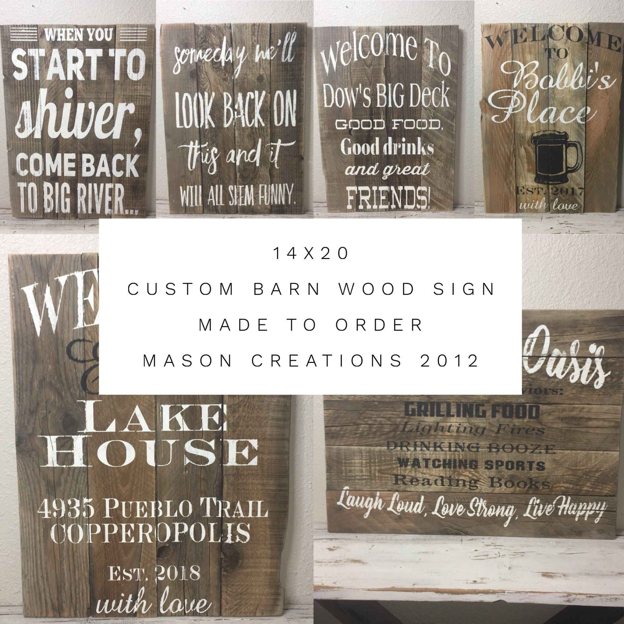 4f6cc0df25a58 20x14 Custom Multi Board Barn Wood Sign-You Design!
