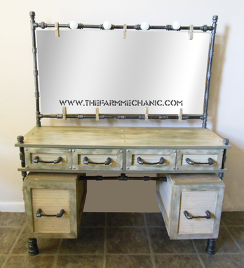 Custom Made Grand Ave. Duchess Vanity