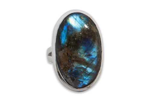 Custom Made Labradorite Unisex Ring