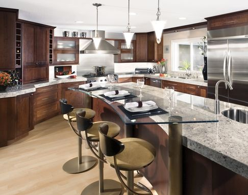 Custom Made Contemporary Custom Kitchen