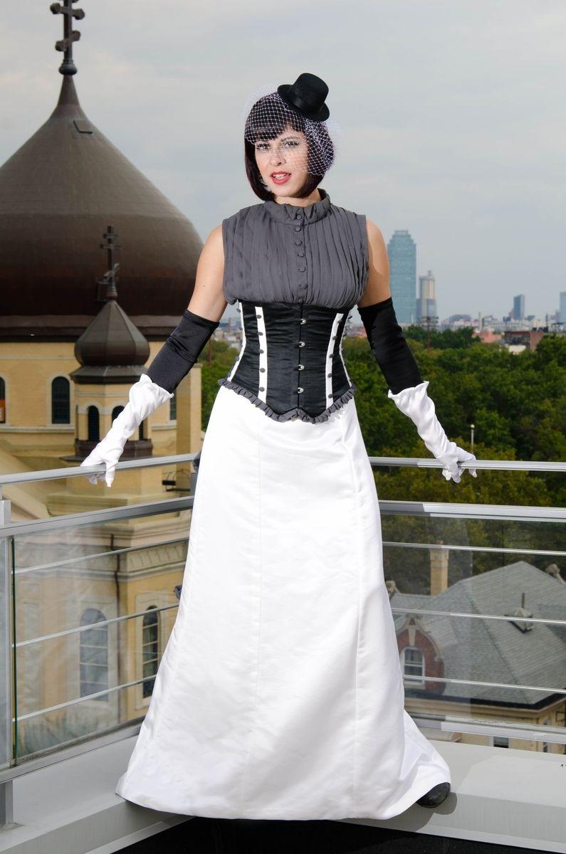 custom wedding dresses handmade wedding dresses Hand Crafted Custom Comic Book Themed Wedding Dress Based On
