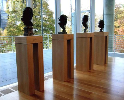 Custom Made Museum Pedestals