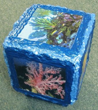 Custom Made Photo Cube