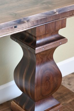 Custom Made Long Hall Table