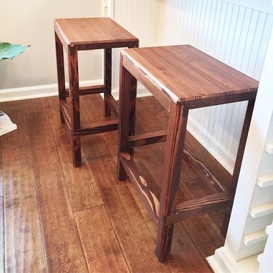 Custom Made Farm House Bar Stools
