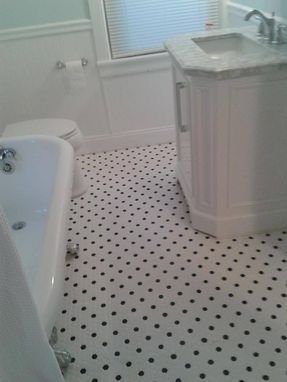 Custom Made Retro Bathroom