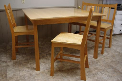 Custom Made Amundson Bar Height Dining Set