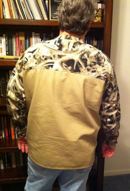 Custom Made Shirt - Canvas And Camo Fleece Long Sleeve