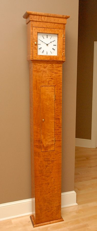 Hand Made Shaker Tall Clock Terry Kelly Furniture