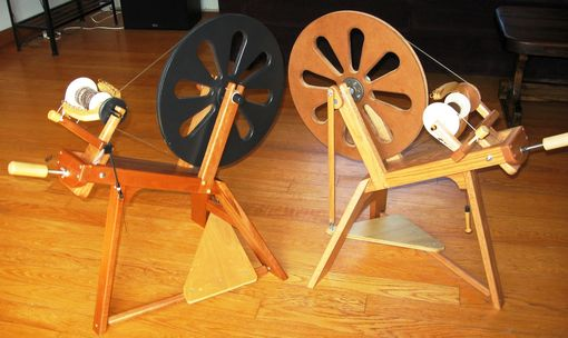Custom Made Saxony Spinning Wheels Or Spinning Accessories