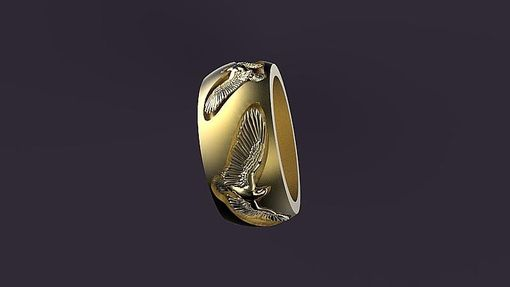 Custom Made Eagle Band