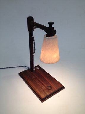 Custom Made Alizarine Desk Lamp