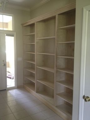 Custom Made Custom Build In Shelving