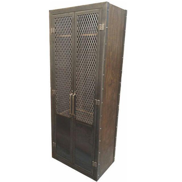 Buy a Hand Made Industrial Club Locker #053 • Industrial Style ...