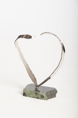 Custom Made Heart - Stainless Steel Sculpture