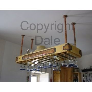 Custom Made Wineglass Rack
