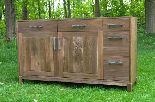 Custom Made Stunning Walnut Sideboard