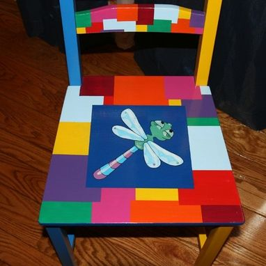 Custom Made Bee Kids Table And 4 Chair Set