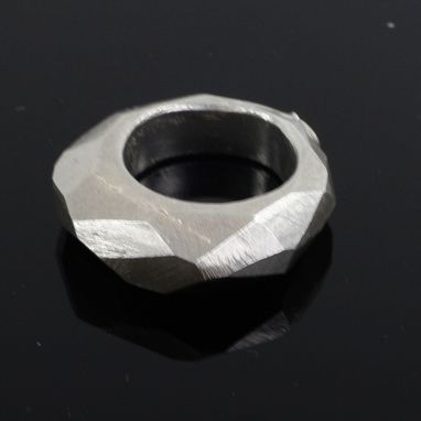 Custom Made Sculptural Bronze Ring