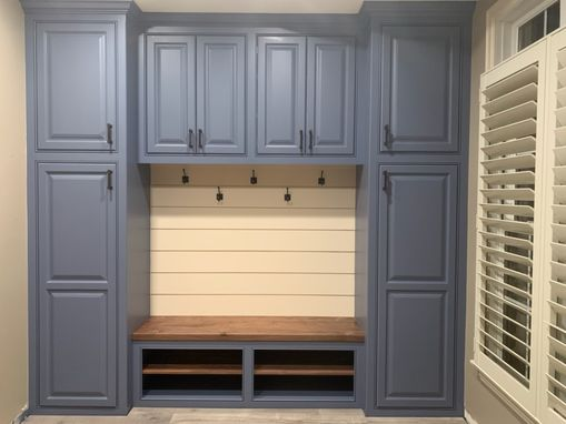 Custom Made Entryway/Mudroom/Built-In
