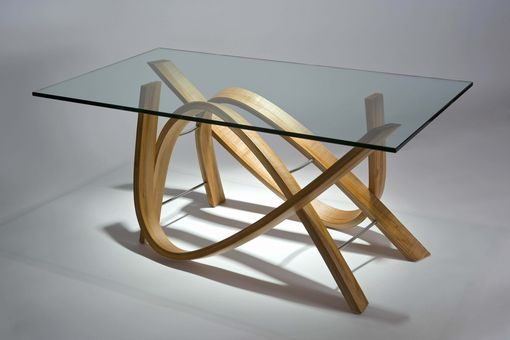 Custom Made Golden Iris Coffee Table