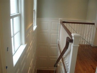 Custom Made Raised Panels Wainscoting And Trim