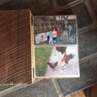 Custom Made Reclaimed Wood Photo Album