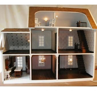 Custom Made Dollhouse