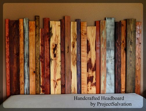 Custom Made Handcrafted Headboard