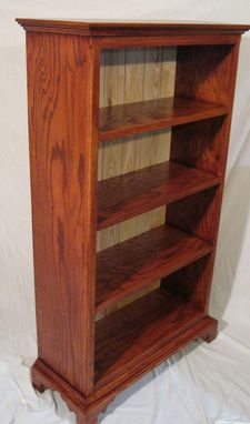 Custom Made Traditional Bookcase