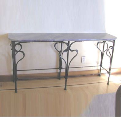 Custom Made Lacroute Sidetable